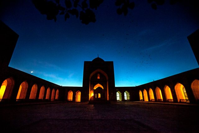 Mir-i Arab Madrassah, Bukhara, Uzbekistan - by Georgina Goodwin, Travel Photography Competition