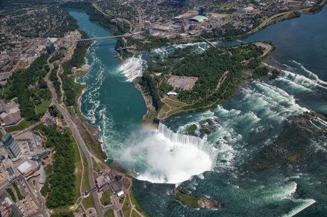 Peter Oshkai - Aerial view of the Niagara Falls
