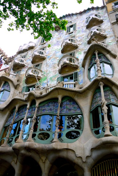 Casa Batlló, Barcelona, Spain  (1) - front facade