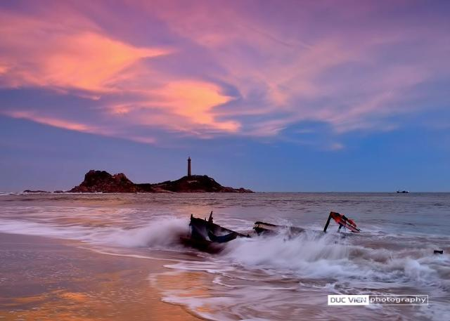 Duc Vien - Sunset over the Kega Cape, Vietnam