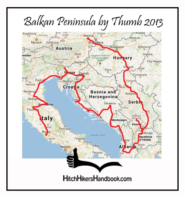 Balkan Peninsula by Thumb 2013 - 1