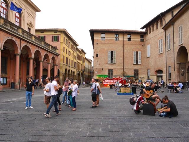 Piazza Giuseppe Verdi, Bologna, Italy, Nostalgia Bolognese