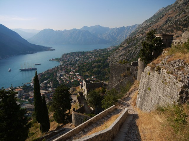 Entering Montenegro, Kotor Bay and Tourist Disinformation Office