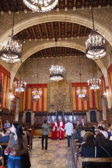Casa de la Ciudad, Ayuntamiento de Barcelona, Barcelona Town Hall, Spain