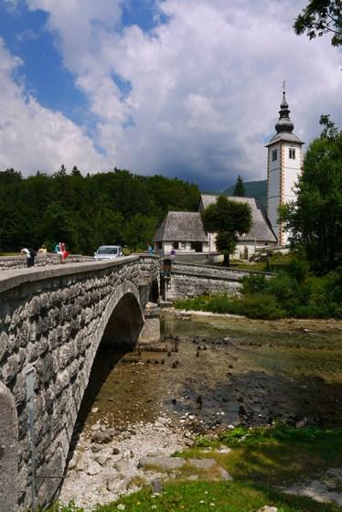 Bohinj, Slovenia (1) - Cerkev Sv Janeza Krstnika church, Ribčev Laz