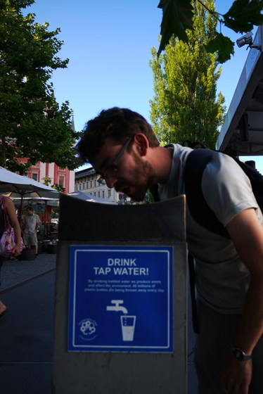 Ljubljana, Slovenia (46) - Tap water fountain in the Old Town