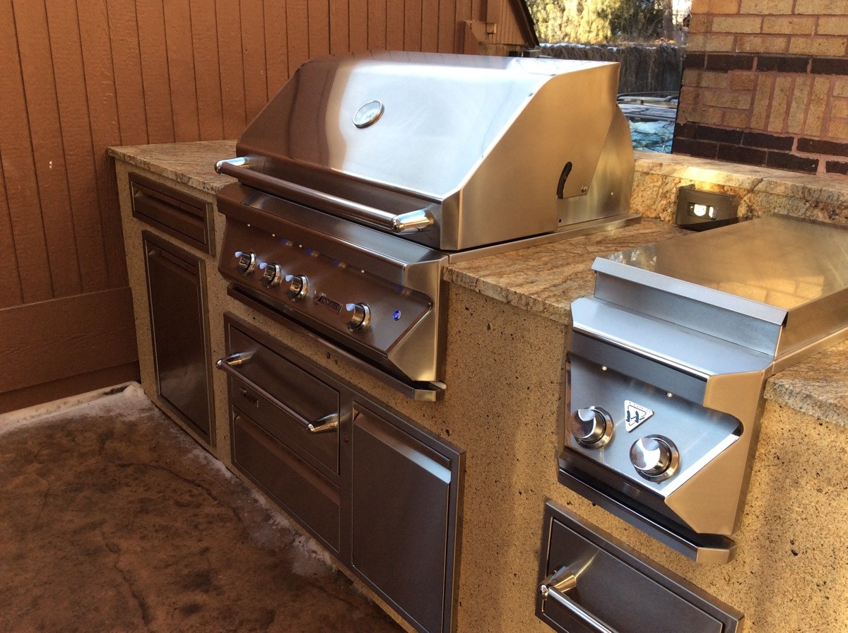 Countertop Warming Drawer Transform Your Backyard Into A Full Service Kitchen Hi
