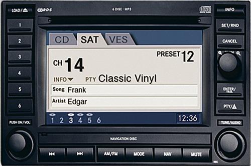 Chrysler Navigation DVD Changer Radio Display Repair - Hi-Tech