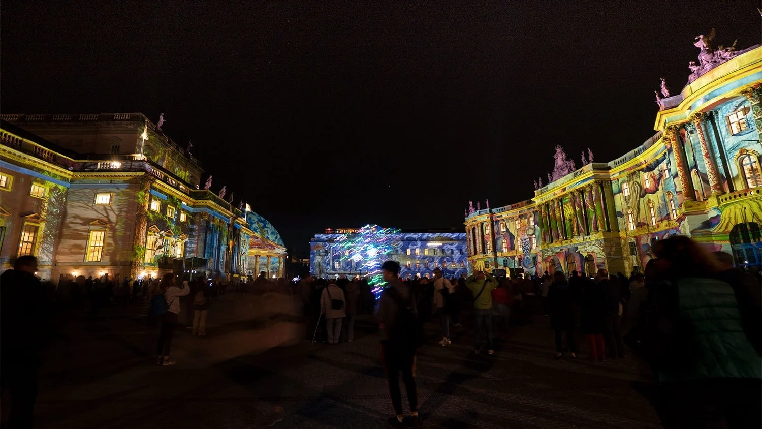 Berlin October Days Filled With A Festival Of Lights
