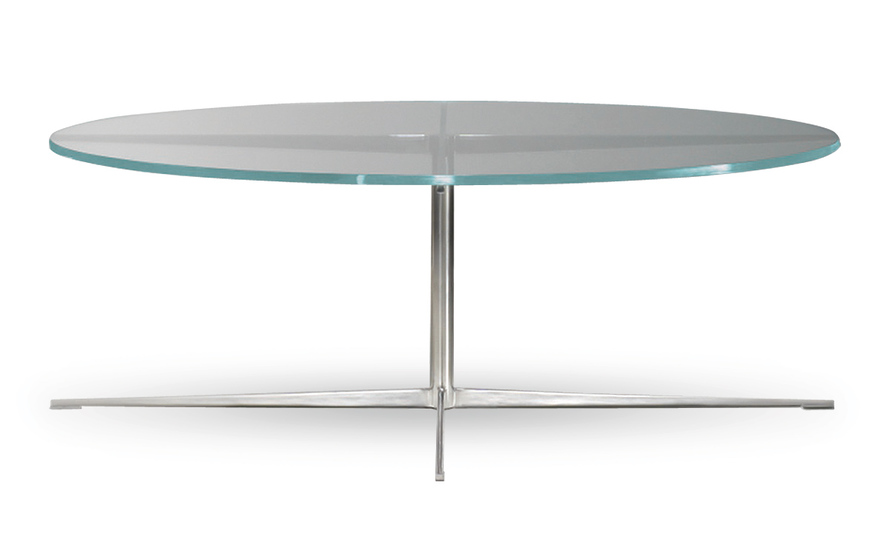 Facet Round Coffee Table - hivemodern
