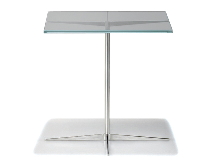 Facet Square Side Table - hivemodern