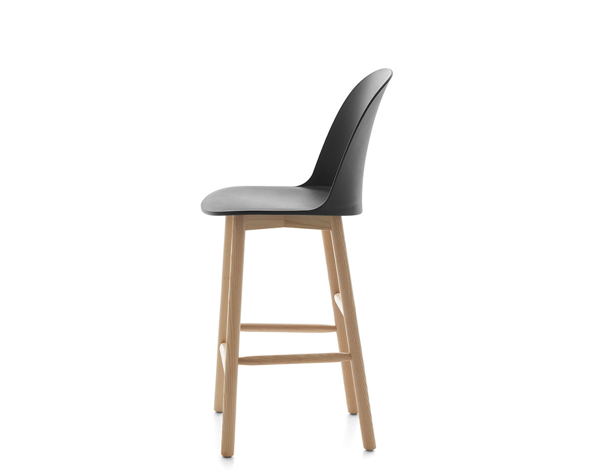 High Back Stools Alfi High Back Stool Hivemodern