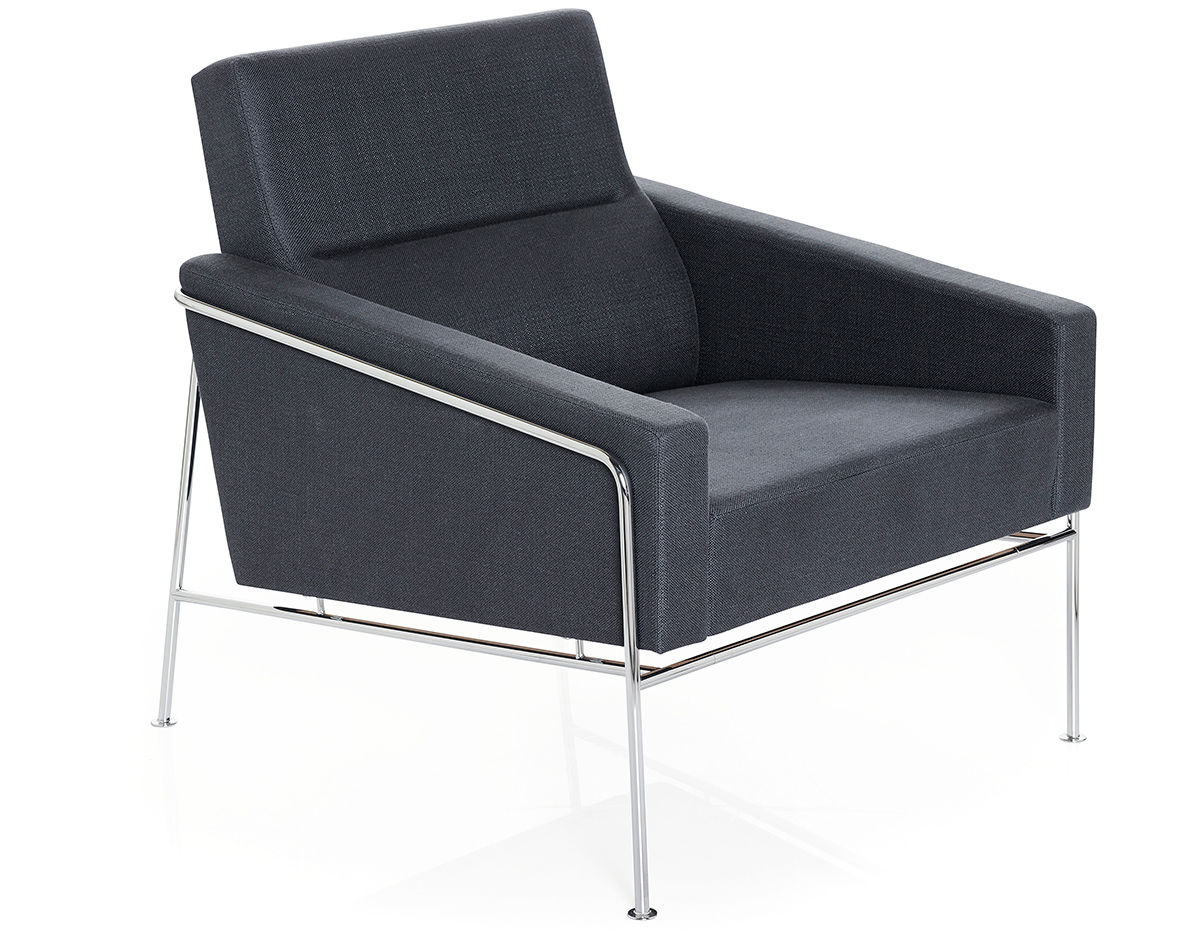 Arne Jacobsen Series 3300 Easy Chair Hivemodern Com - Arne Jacobsen Chair