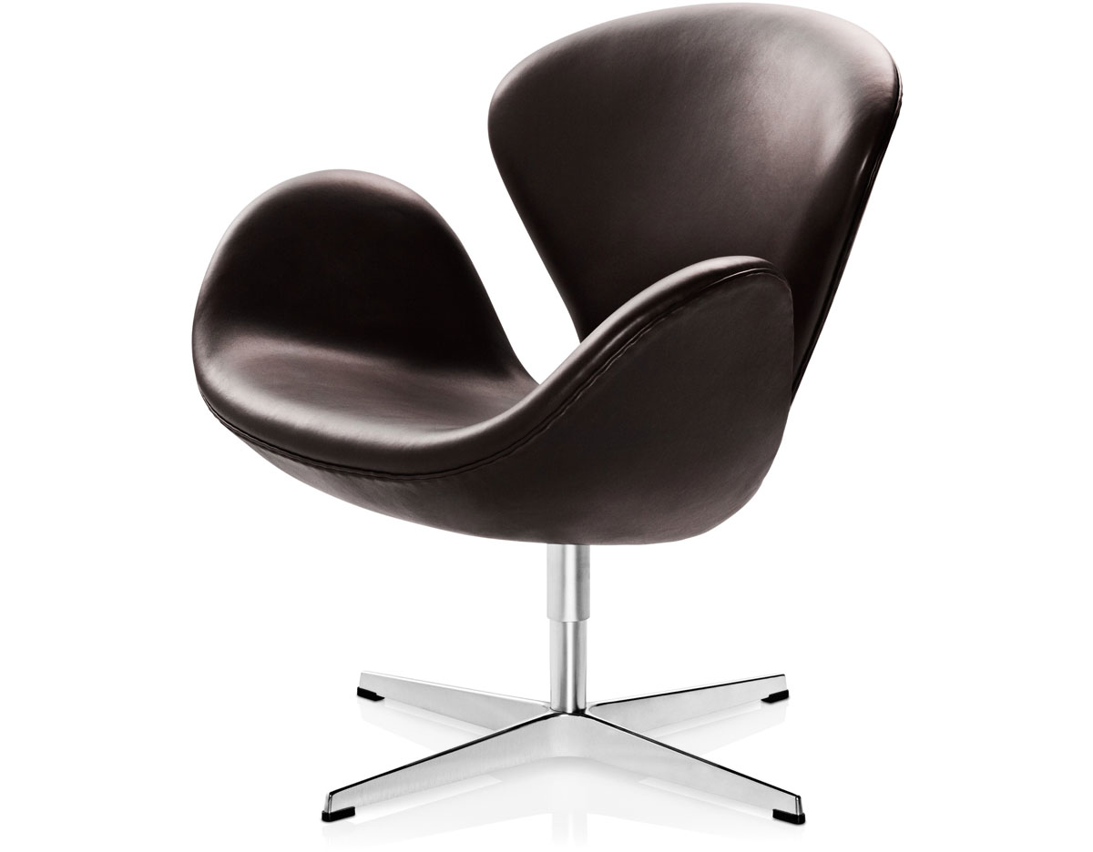 Arne Jacobsen Swan Chair Hivemodern Com - Arne Jacobsen Chair