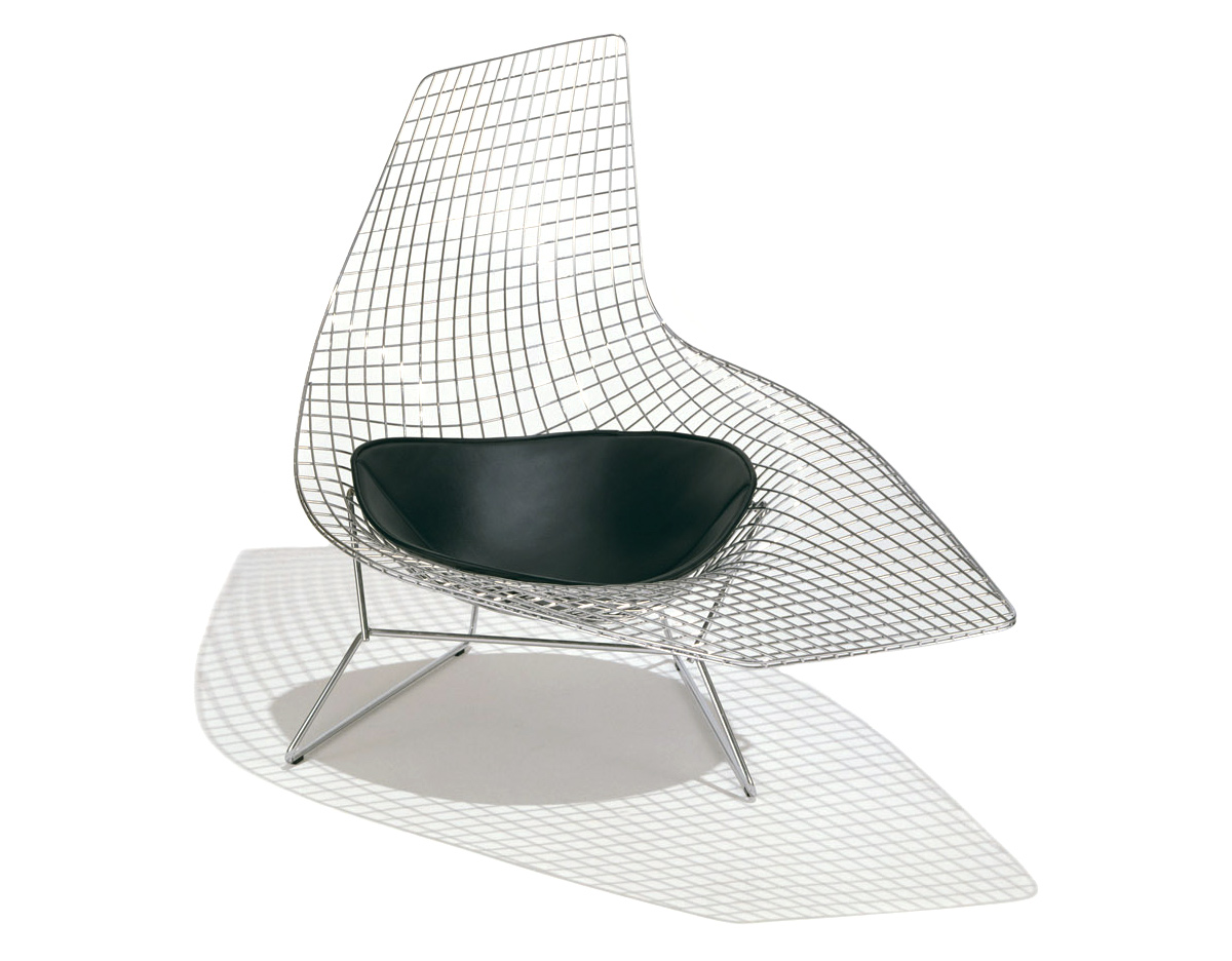 Galette Chaise Bertoia Chaise Harry Bertoia Chair Design Plywood Chair Harry