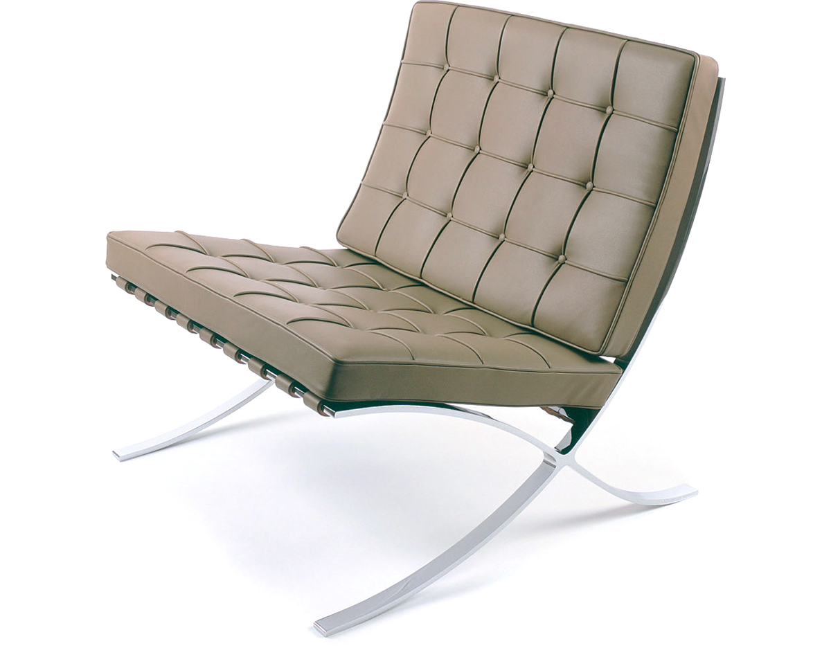 Sessel Made In Germany Barcelona Chair Chrome Plated