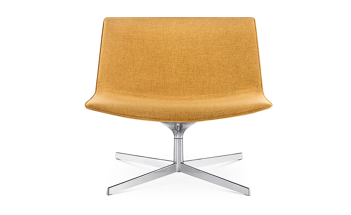 Egg Lounge Sessel Catifa 80 Lounge Chair With Pedestal Base