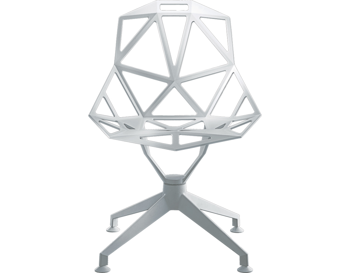 Konstantin Grcic Chair One Magis Chair One With 4 Star Base Hivemodern