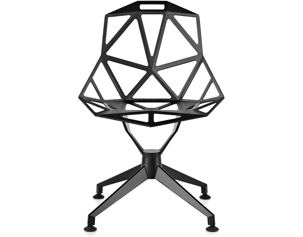 Konstantin Grcic Chair One Chair One With 4 Star Base Hivemodern