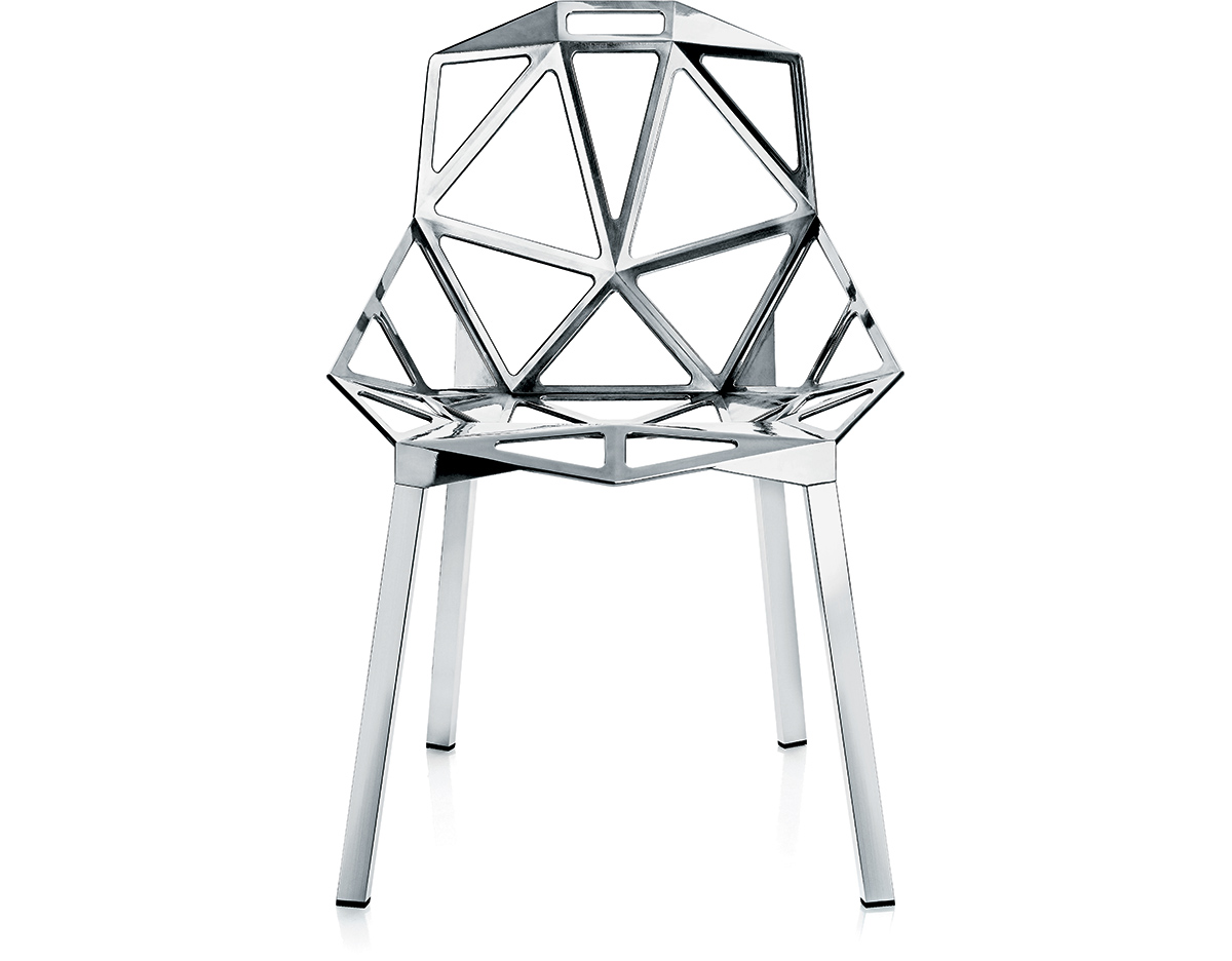 Konstantin Grcic Chair One Magis Chair One With Stacking Base Two Pack Hivemodern