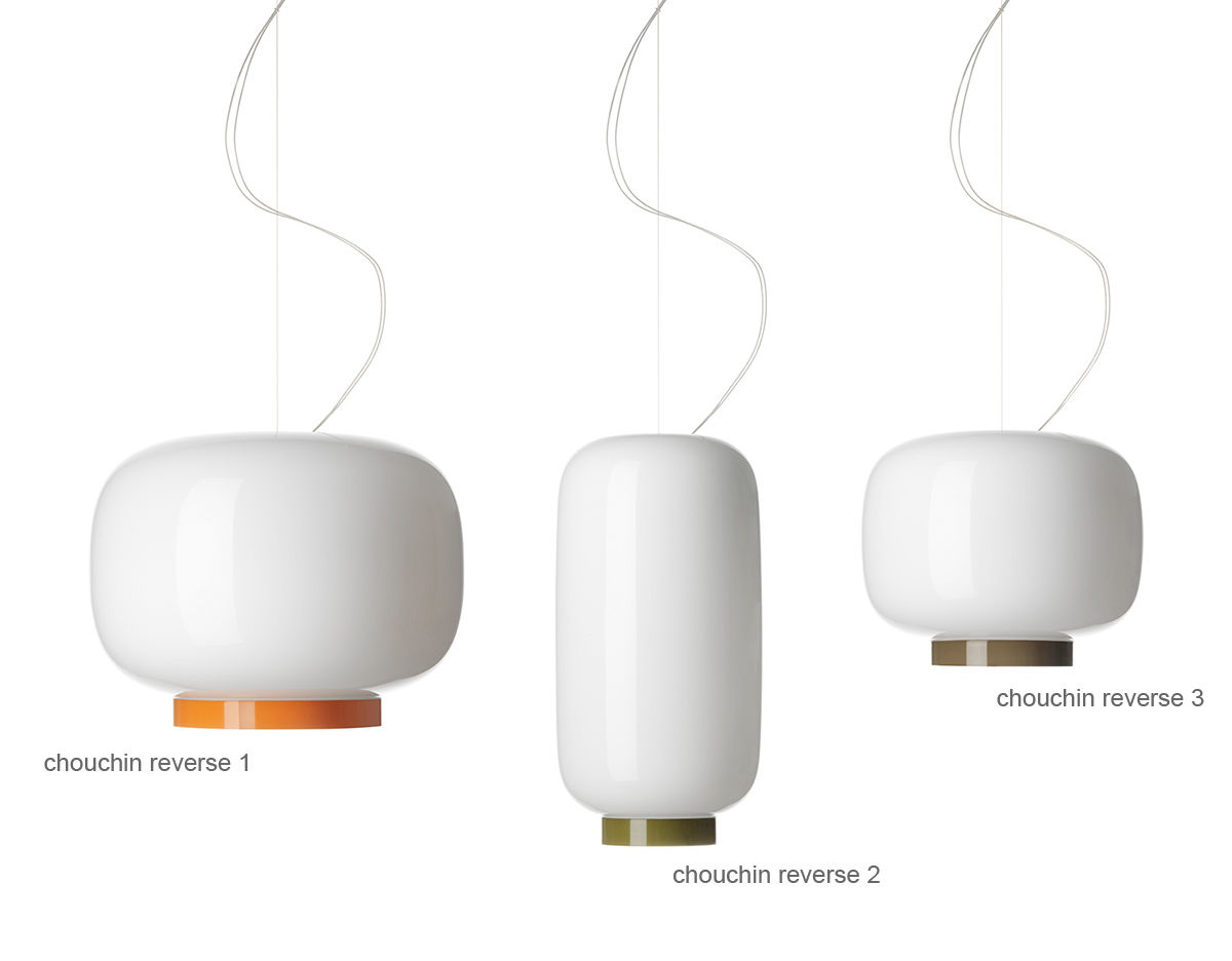 Foscarini Lights Chouchin Reverse Suspension Lamp