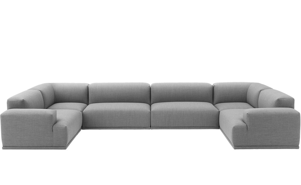 U Couch Connect U Shaped Sectional Sofa - Hivemodern.com