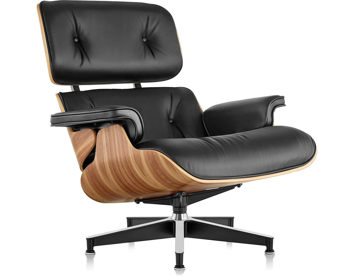 Eames Lounge Sessel Eames Lounge Chair Without Ottoman Hivemodern