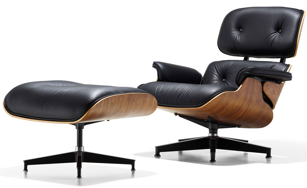 Charles & Ray Eames Sessel Eames Lounge Chair Ottoman