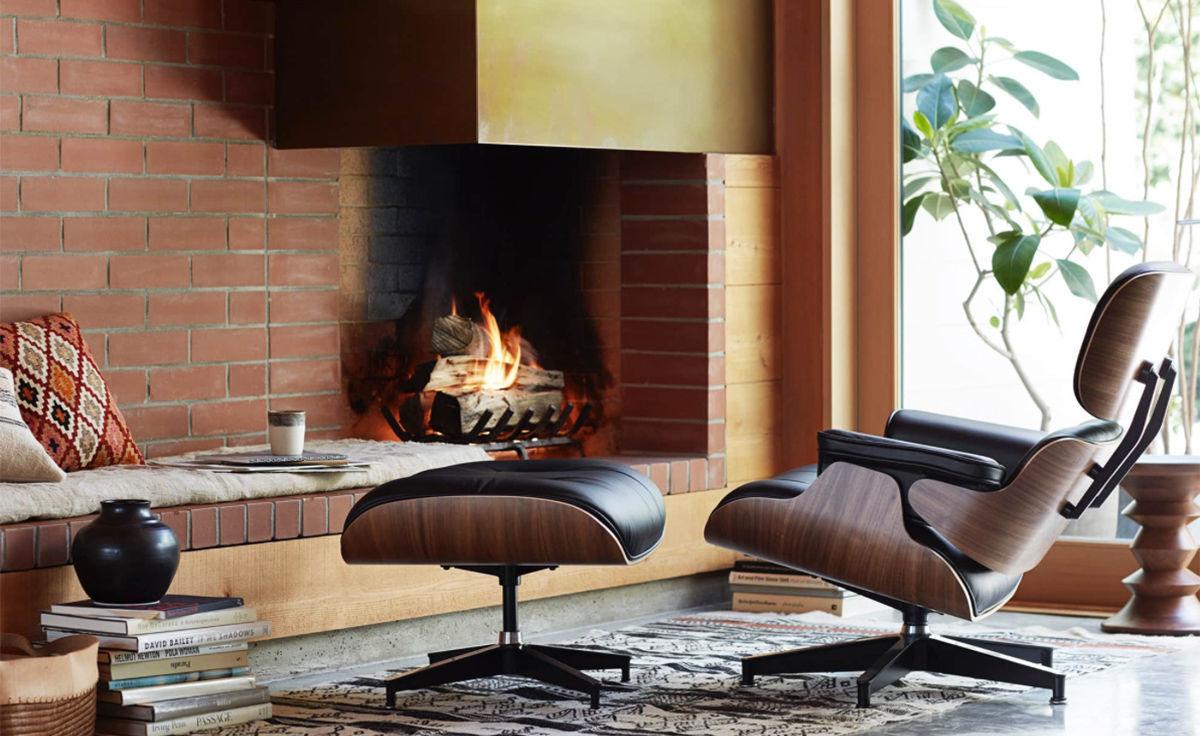 Eamesr Lounge Chair Ottoman Hivemoderncom