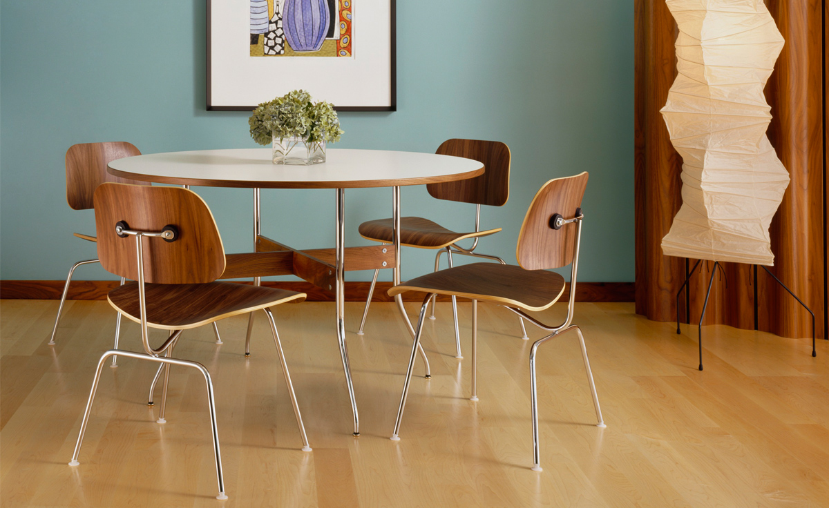 Eames Plywood Chair Eames Molded Plywood Dining Chair Dcm