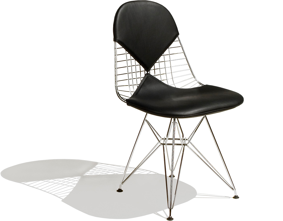 Eames Wire Chair With Bikini Pad Hivemodern Com - Eames Chair Wire