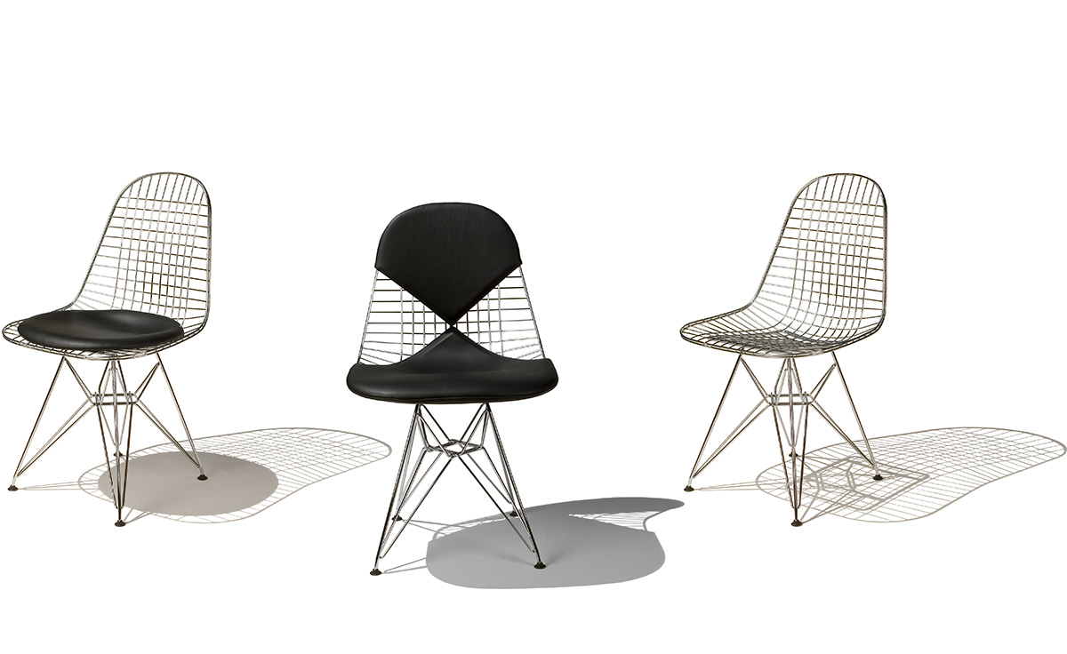 Ray Und Charles Eames Works Xsead Molded Fiberglass