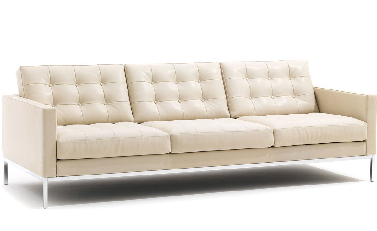 Designer Sofas Usa Florence Knoll Relaxed Sofa - Hivemodern.com