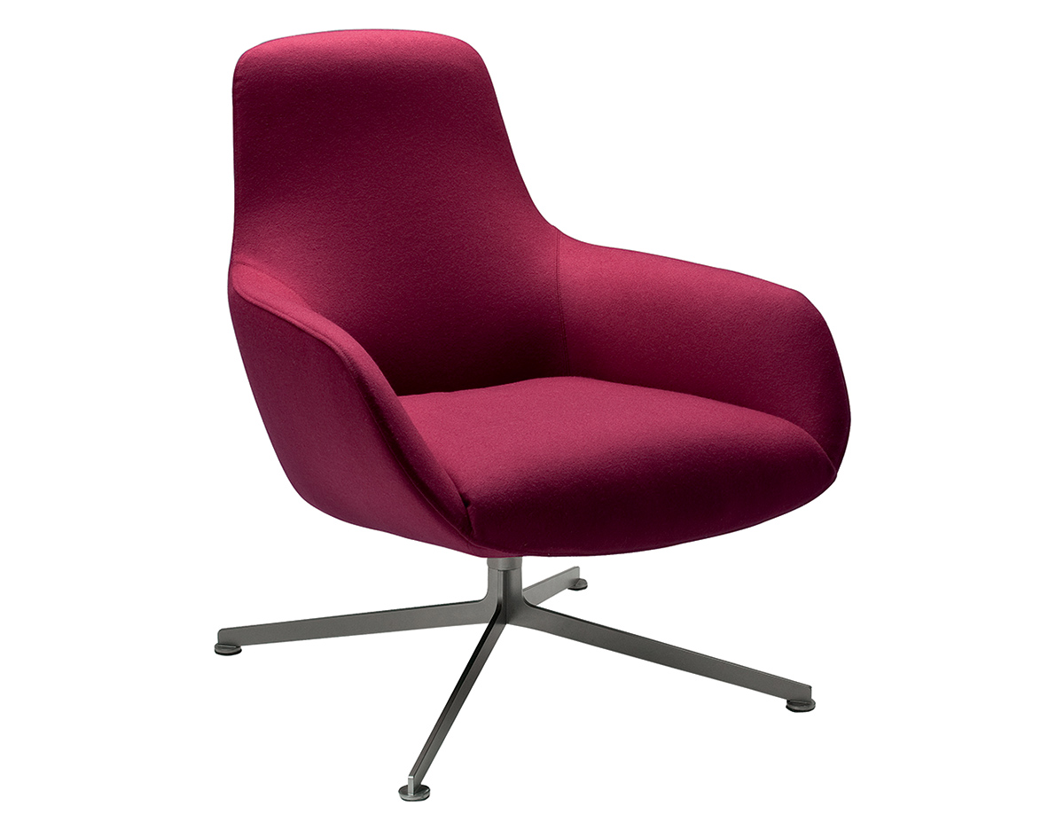 Kleine Sessel Design Kent Low Back Chair - Hivemodern.com