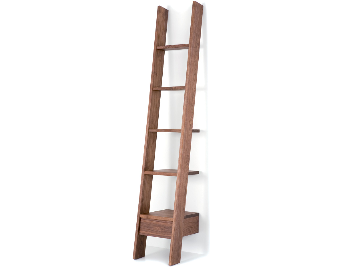 Ladder Bookshelf Ikea Ladder Bookcase 217 Hivemodern