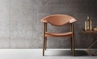 Lm92 Metropolitan Leather Back Chair - hivemodern.com