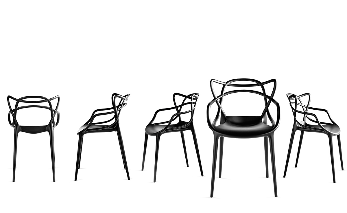 Vitra Eames Armchair Masters Chair 4 Pack Special Price - Hivemodern.com