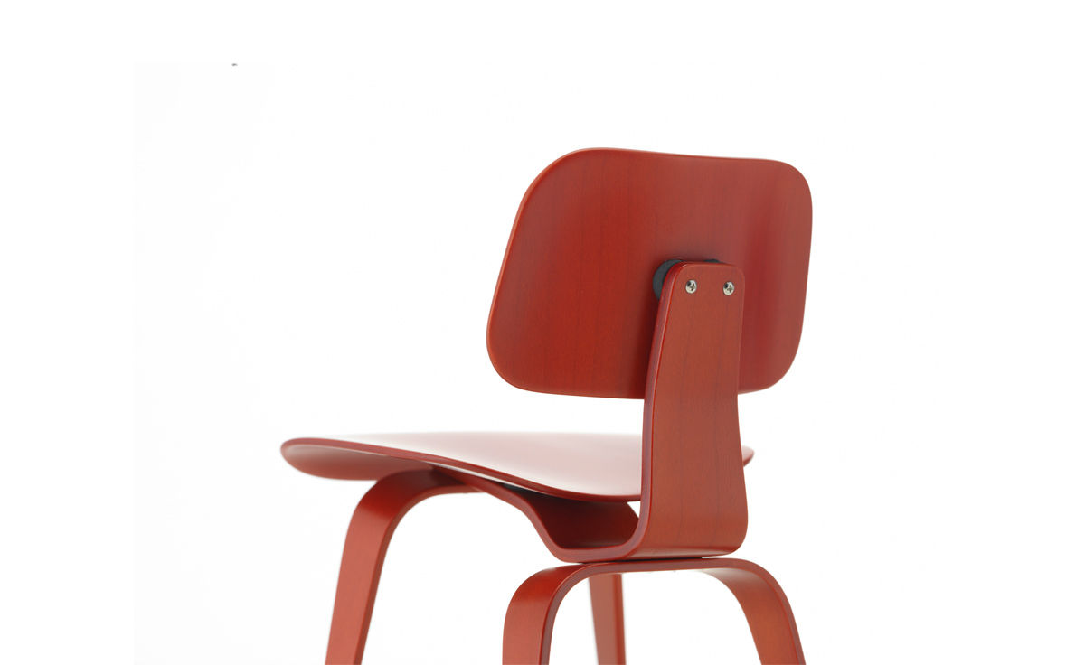 Eames Vitra Miniature Eames Dcw Red