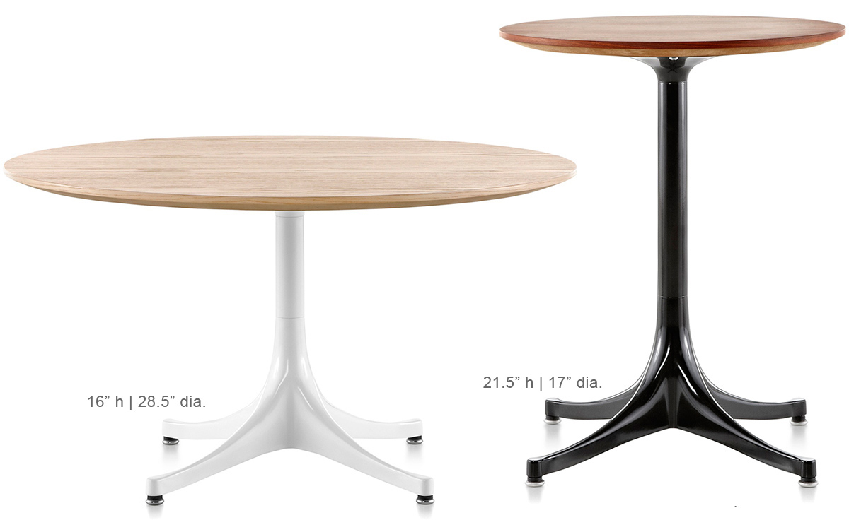 Coffee And Side Tables Nelson Pedestal Side Table