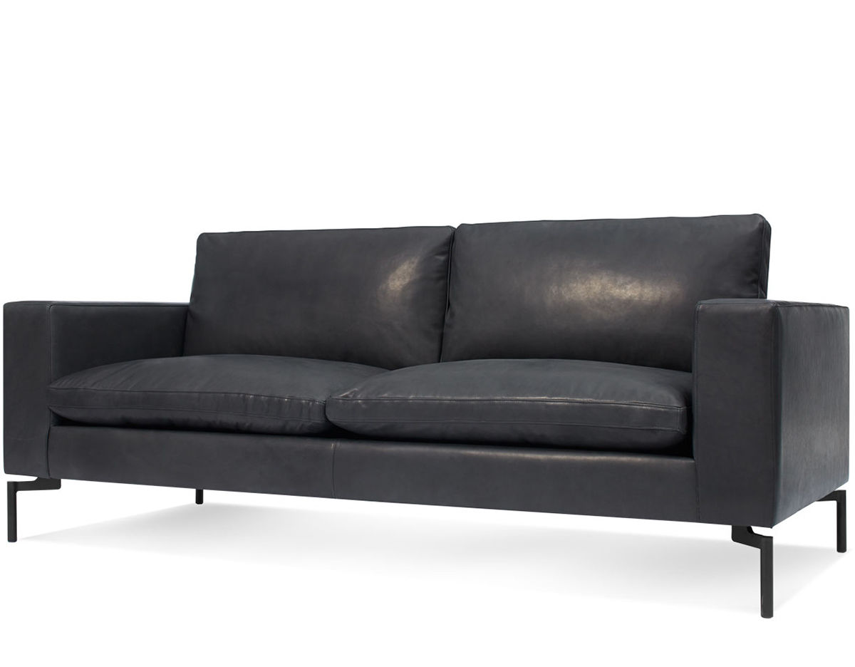 Ludwig Big Sofa New Standard 78 Quot Leather Sofa Hivemodern