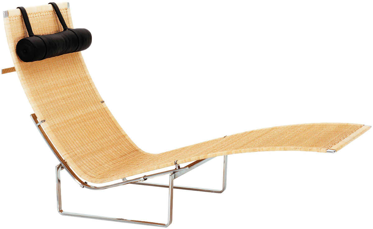 Chaise Rocking Chair Pk24 Wicker Chaise Lounge