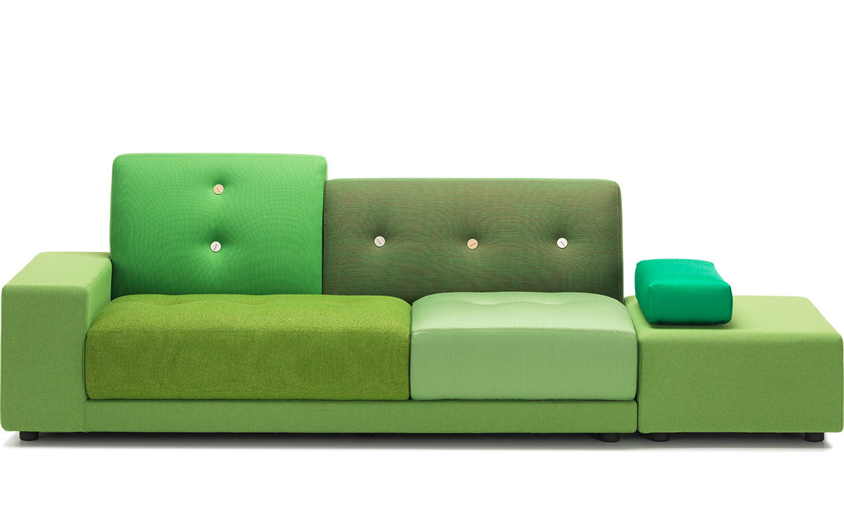 Sofa Cushions Are Flat Polder Sofa - Hivemodern.com