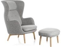 Ro Lounge Chair And Ottoman - hivemodern.com