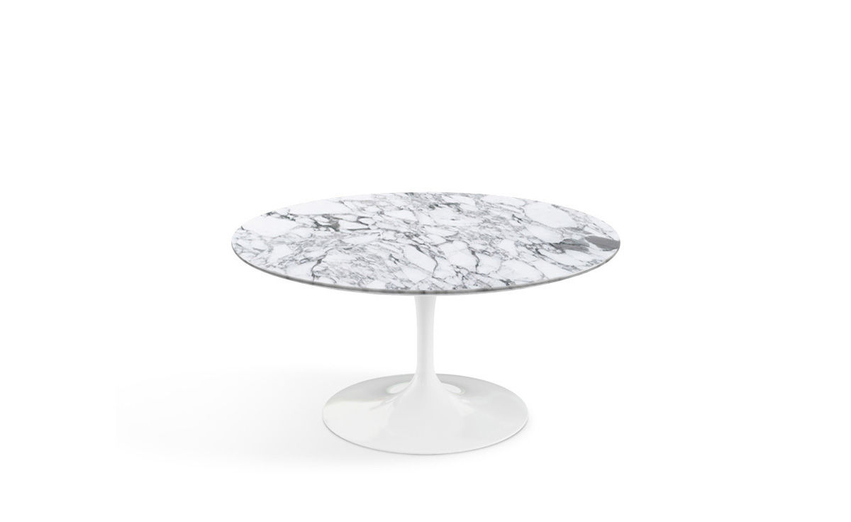 Saarinen Knoll Table Saarinen Coffee Table Arabescato Marble