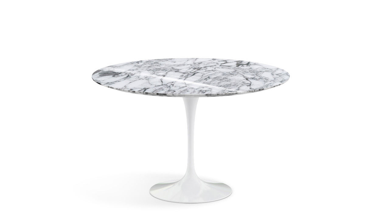 Saarinen Knoll Table Saarinen Dining Table Arabescato Marble