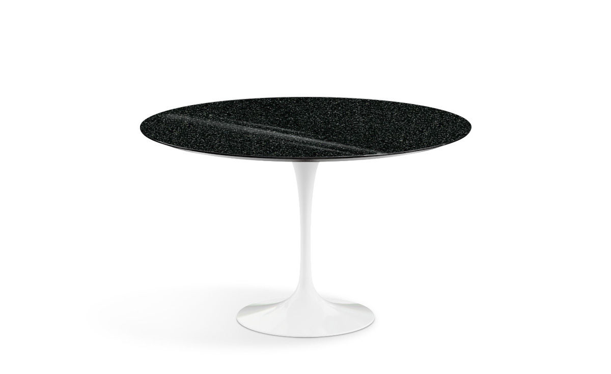 Knoll Table Saarinen Dining Table Black Granite
