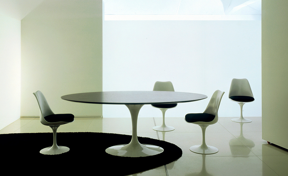 knoll saarinen tulip dining table granite kitchen table overview