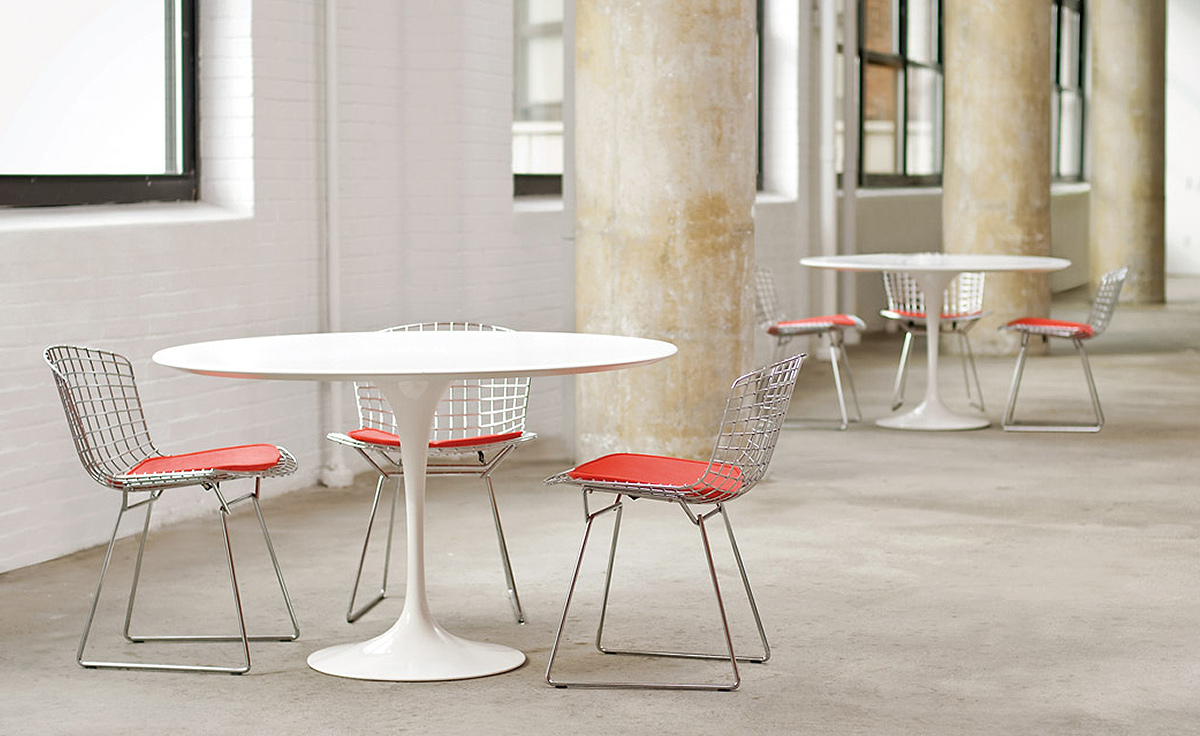 Saarinen Knoll Table Saarinen Dining Table White Laminate