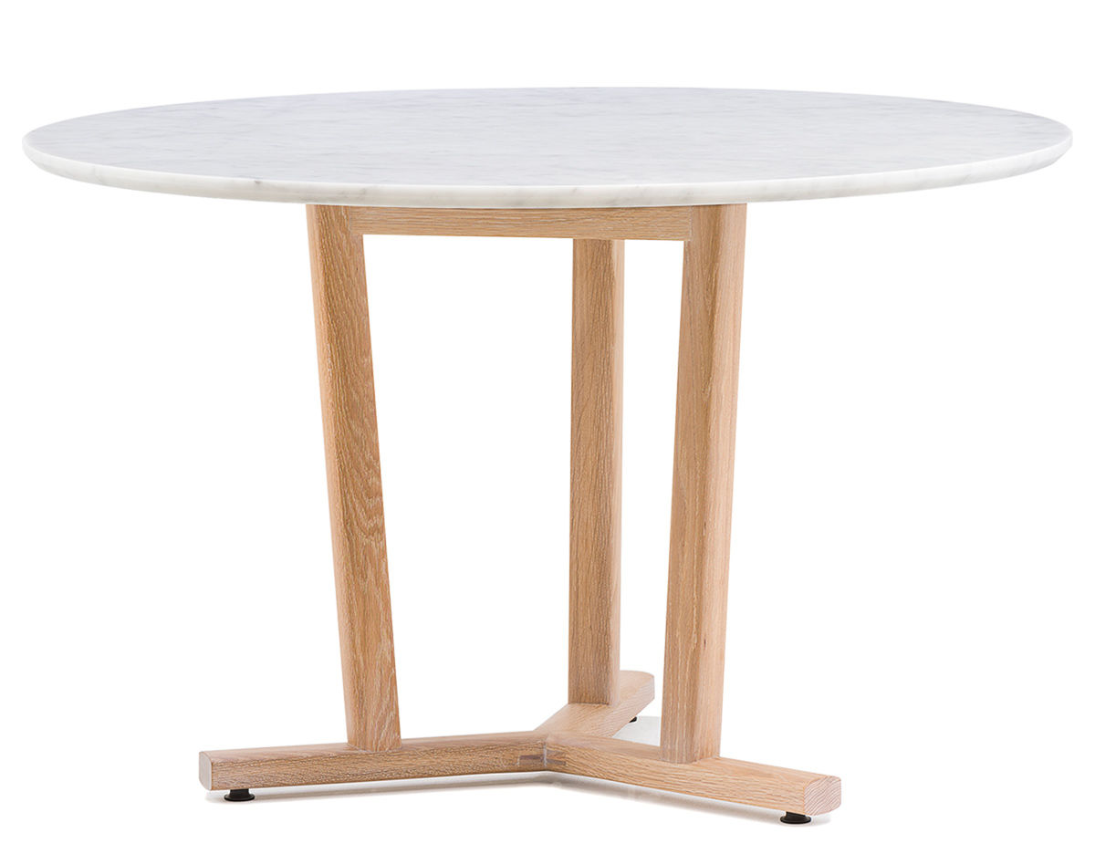 Round Timber Dining Table Shaker Round Dining Table 764