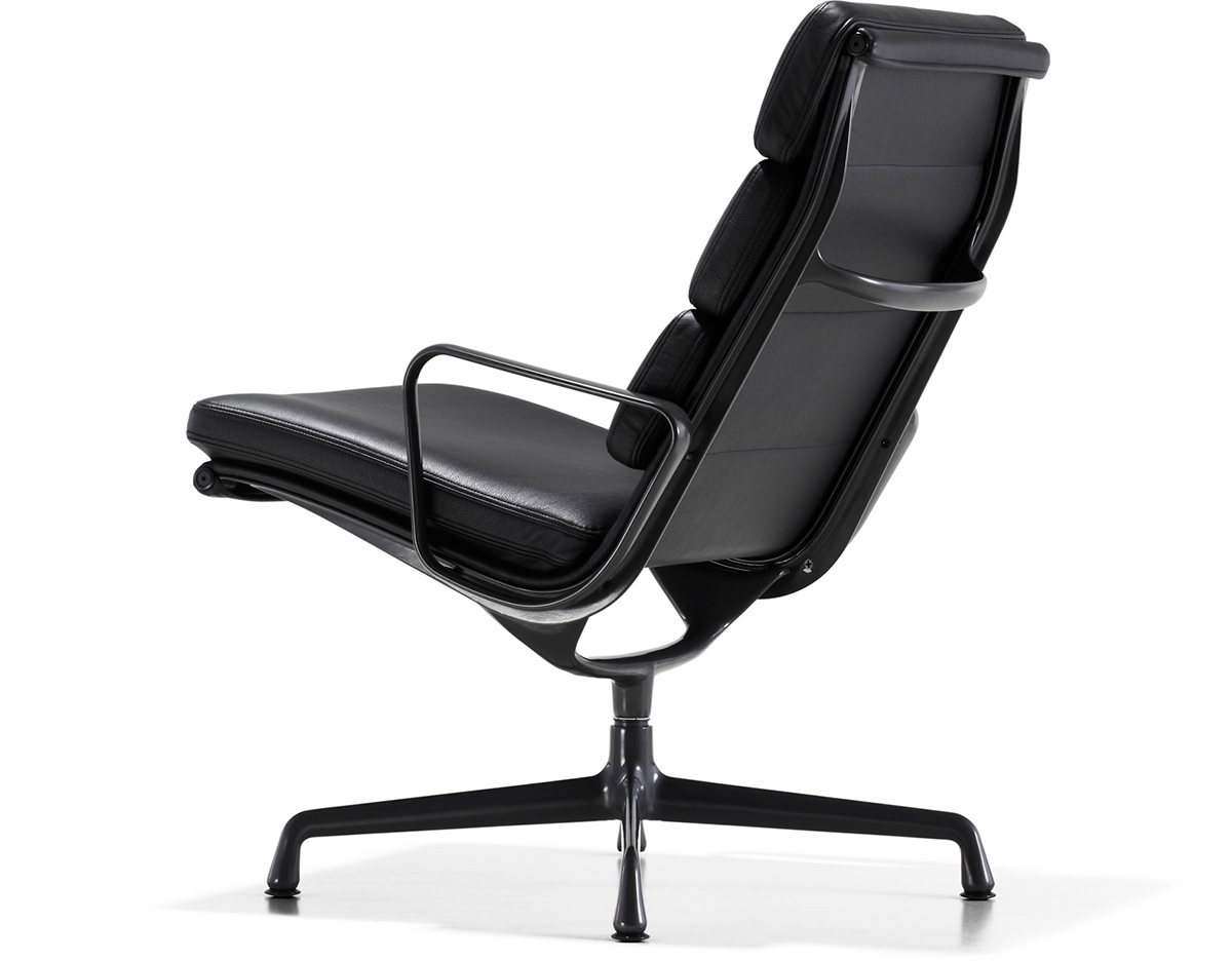 Quinti Sedute New York Eames Soft Pad Group Lounge Chair